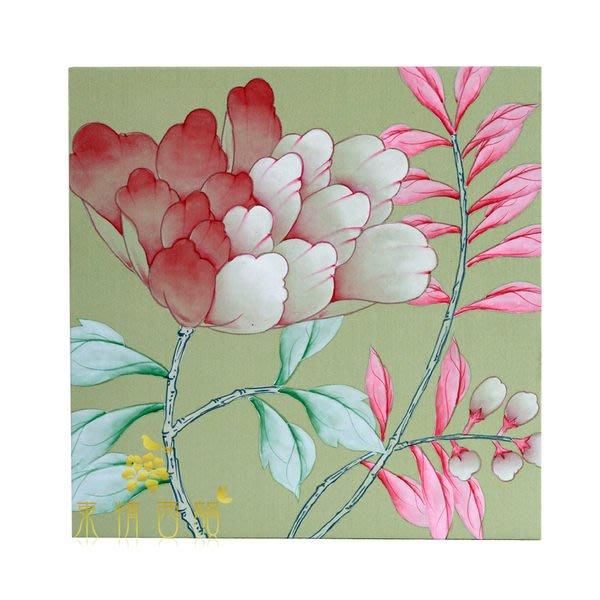 【芮洛蔓 La Romance】東情西韻系列手繪迷你絹絲畫飾 B / 掛飾 / 壁飾