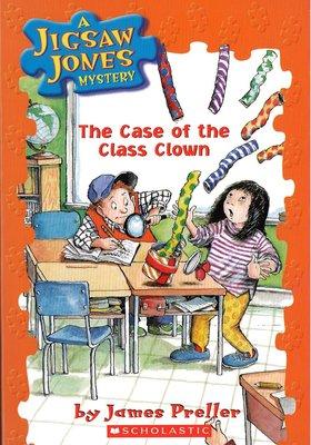 *小貝比的家*JIGSAW#12: THE CASE OF THE CLASS CLOWN/平裝書+CD/7-12歲