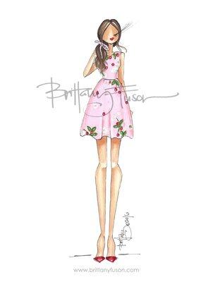 秀款櫻桃🍒雛菊🌼短洋裝