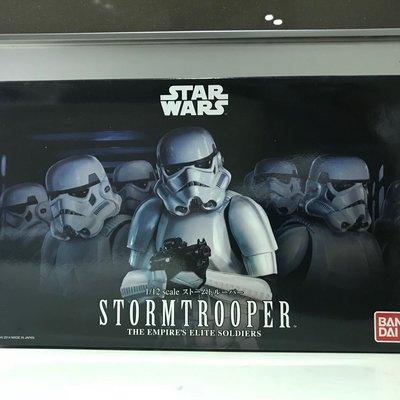 Bandai 1/12 Star Wars 星球大戰 Empire's Elite Soldiers 帝國軍 StormTrooper 暴風兵 白兵 模型