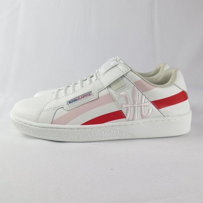 Royal Cross 無鞋帶 休閒鞋 公司貨 92993011 女款 白X紅X粉紅【iSport愛運動】