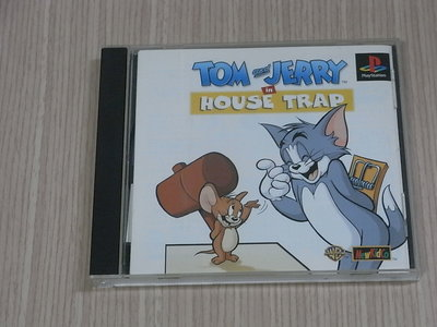 【小蕙館】<PS1> TOM and JERRY 湯姆和傑力 貓抓老鼠 (純日版) 有側標