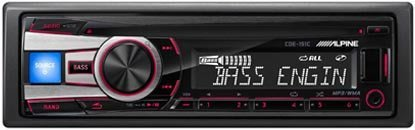 【ALPINE】CDE-151C 音響主機 CD/MP3/USB/iPhone/iPod 公司貨保固