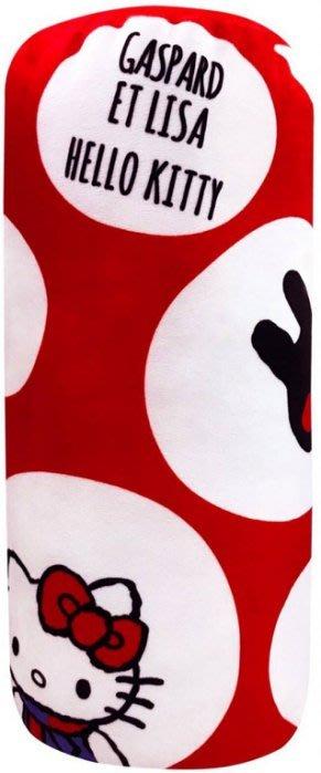 【好孩子福利社】HELLO KITTY 麗莎和卡斯柏圓筒枕 圓柱枕 長筒枕 靠枕 午安枕 抱枕