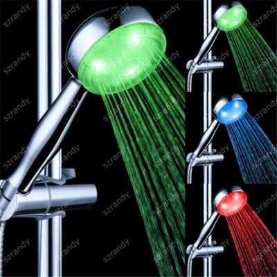 【蘑菇小隊】光療花灑 七彩LEDSPA淋浴花灑單頭 噴頭 讓沐浴更暢快有趣淋浴頭-MG67318