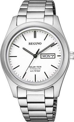 日本正版 CITIZEN 星辰 REGUNO KM1-415-11 男錶 男用 手錶 太陽能充電 日本代購