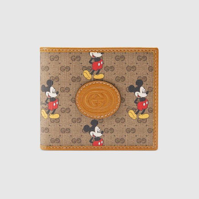【連線】Gucci Disney 迪士尼聯名 短夾 ( 免運) 歐洲連線