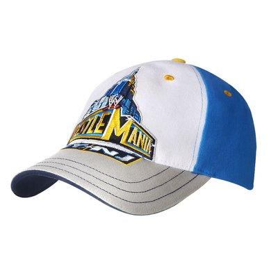 [美國瘋潮]正版 WWE WrestleMania 29 White Baseball Hat 摔角狂熱29紀念款棒球帽