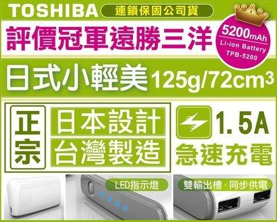 【台灣數位限量超值組】TOSHIBA 行動電源