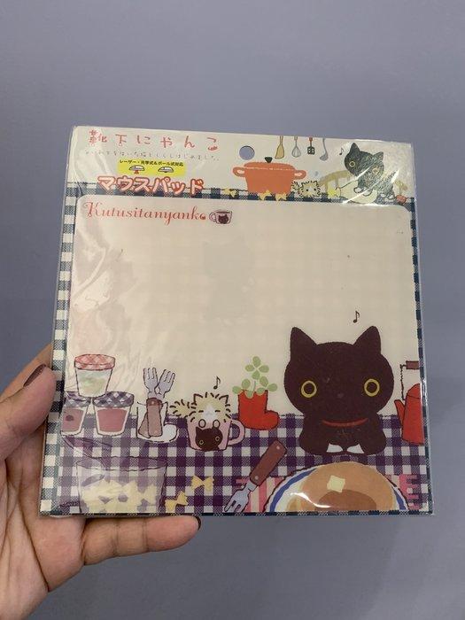 ^燕子部屋 ^ San-X正版 【 襪子貓/ 靴下貓 】滑鼠墊(清倉 原價190 現特99)