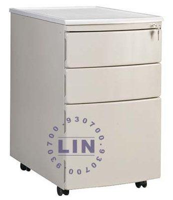 【品特優家具倉儲】P322-11活動櫃資料櫃三層櫃弧形活動櫃灰白色
