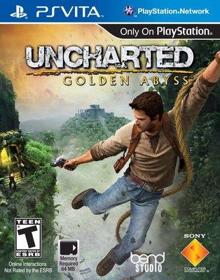 全新未拆 PSV 秘境探險:黃金深淵 -英文美版- Uncharted: Golden Abyss
