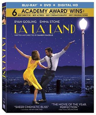 BD 全新美版【樂來越愛你】【la la land】Blu-ray 藍光