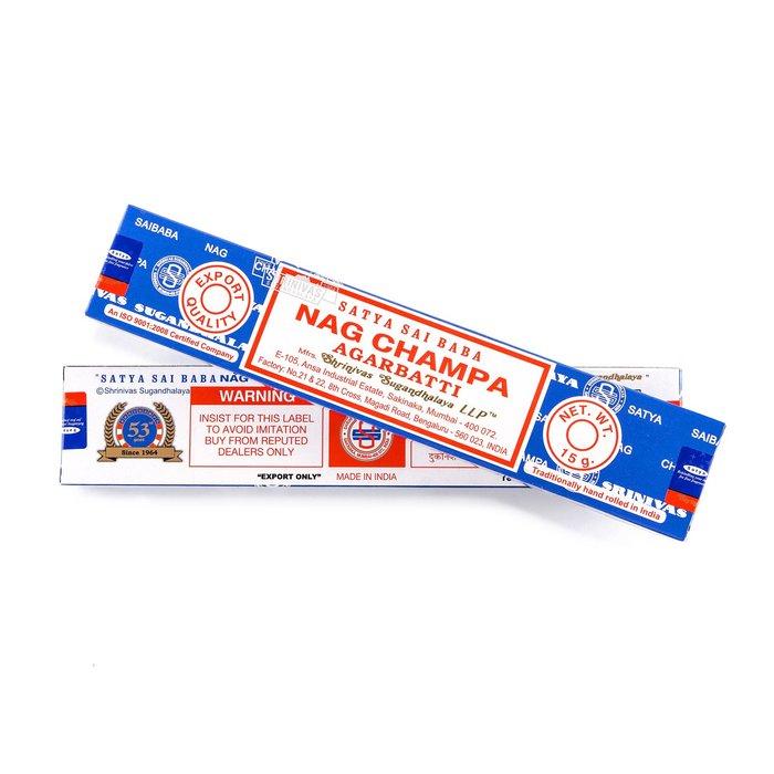 【高冠國際】印度線香 SATYA SAI BABA Nag Champa(賽巴巴)15g 賽巴巴 線香 印度