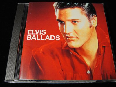 【198樂坊】貓王 Elvis Presley Ballads(Love Me...日版)CQ