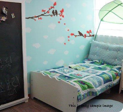 【皮蛋媽的私房貨】韓國壁貼&壁紙*室內設計/裝飾*日式風情紅色楓葉