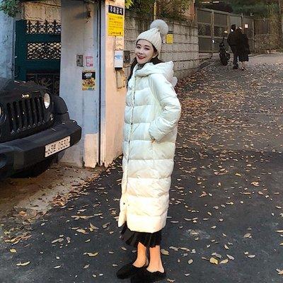 棉衣 羽絨服 麵包服 棉襖棉服新款冬裝韓版學生中長款過膝小個子連帽寬松棉衣外套女