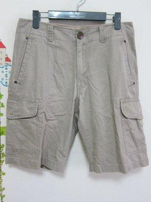 衣市藍~BIG TRAIN 休閒短褲 (W30~) (180902)