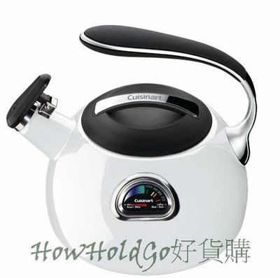 Cuisinart PerfecTemp Teakettle 正確溫度數字+顏色顯示 茶壺 3 quart【特價現貨】