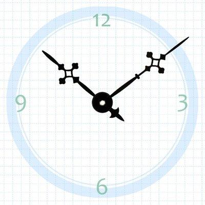 【鐘點站】T082060 SUN機芯專用 造型指針 / 分針82mm 時針60mm / DIY 時鐘 掛鐘 鐘針