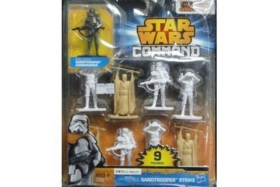 HASBRO 星球大戰 COMMAND SANDTROOPER STRIKE 25798 (PIU/KW189-22)