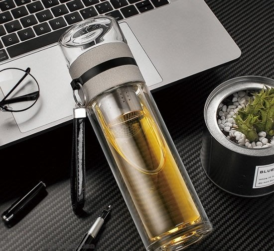 高硼矽茶水分離水瓶 304不鏽鋼濾網 精選玻璃/陶瓷篇