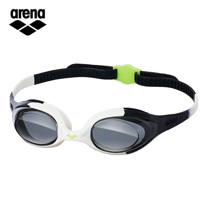 ~有氧小舖~日本ARWNA 一體成形 速調型兒童防霧矽膠泳鏡 AGG-400J 微NG品出清