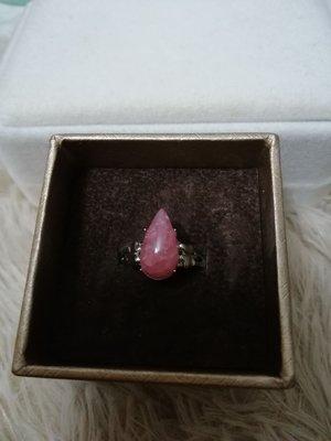 天然紅紋石活口戒指Ring
