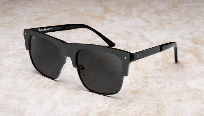 { POISON } 9FIVE J'S BLACKOUT 消光黑 半框式 美國西岸風格太陽眼鏡品牌