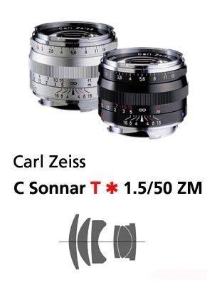@佳鑫相機@(全新品)Zeiss蔡司 ZM C-Sonnar T* 50mm F1.5(銀) Leica M用 公司貨