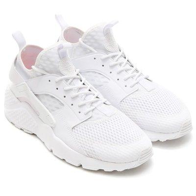 =CodE= NIKE AIR HUARACHE RUN ULTRA BR 武士慢跑鞋(全白)833147-100.男女 台北市