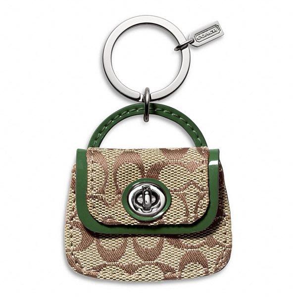 破盤出清大降價!全新美國名牌 COACH logo 包造型鑰匙圈,少見款!生日情人節送禮,低價起標無底價!本商品免運費!