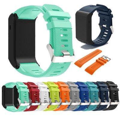KINGCASE (現貨) Garmin Vivoactive HR 錶帶矽膠軟膠腕帶