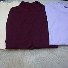 牛奶絲 多款色系內搭衣/長袖/圓領 保暖內搭衫 size:S~全新品