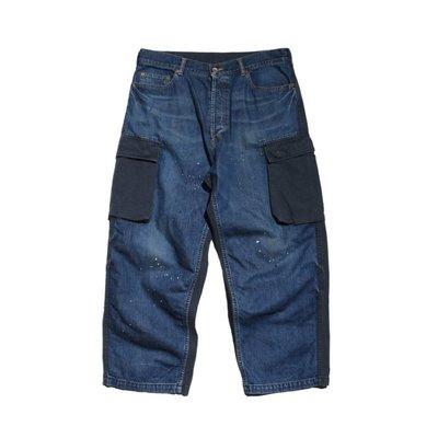 【AllenTAPS】MADNESS DENIM x RIPSTOP RECONSTRUCTED PANTS 軍褲