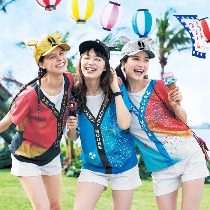 《FOS》 2019新款 日本 Disney 迪士尼 T恤 短T 棉T 時尚 雜誌款 可愛 米奇 夏日 祭典 慶典 限定