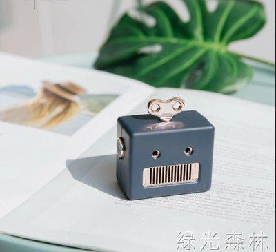 哆啦本鋪 籃芽音箱 復古藍芽音箱創意小巧可愛隨小音響 D655