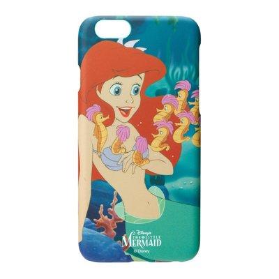 尼德斯Nydus~* 日本正版迪士尼 復古系列 小美人魚 橡膠霧面 硬殼 手機殼 4.7吋 iPhone6 6S