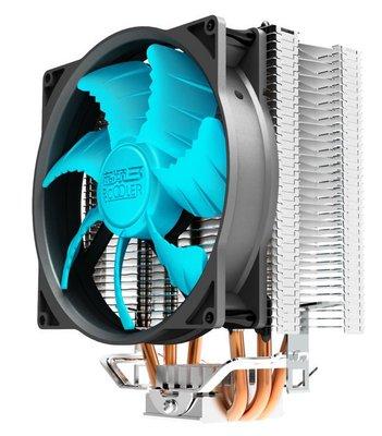 【也店家族 】超頻3 東海X3智能 CPU散熱器 狼爪型扇葉 散熱佳 智能調速