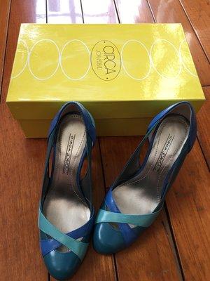 Circa專櫃Joan&David跟鞋(5號)(另送同櫃白色鞋子)