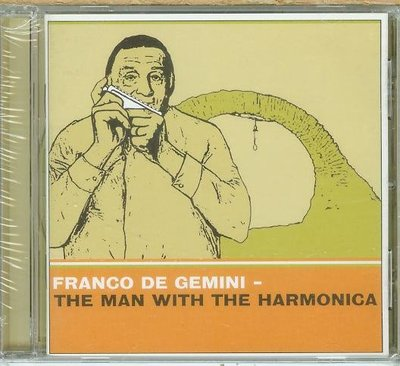 """Man with the Harmonica""- Franco De Gemini,全新義大利版,122"