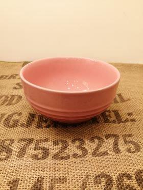 【 LE CREUSET】早餐穀片碗-薔薇粉(16cm).特價660元.原價:980元.竹北可面交.可超取