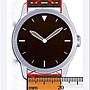 20mm咖啡色防水進口皮料,啞光高質感替代oris ck armani seiko原廠錶帶真皮製錶帶