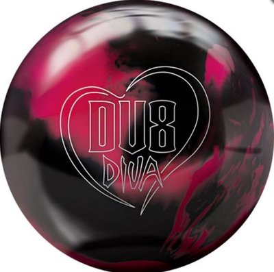 美國進口保齡球DV8 品牌DIVA曲球玩家喜愛的品牌15磅