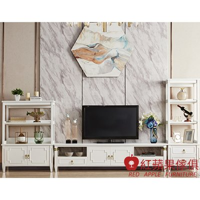 [紅蘋果傢俱] LS DG6602 輕奢客廳系列 電視櫃 地櫃  現代 簡約 輕奢 美式