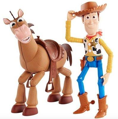 【ToyGo】現貨 * 美國 迪士尼 玩具總動員 胡迪警長+紅心馬 (Woody & Bullseye) 公仔玩具組