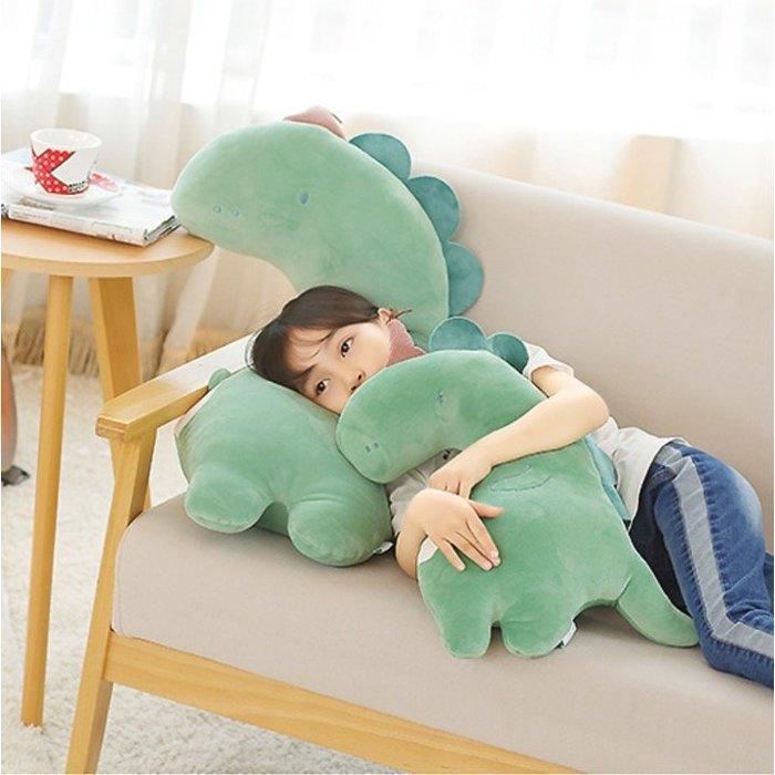 大抱枕動物玩偶兒童毛絨靠墊可愛舒服枕頭裝飾(80cm款)_☆找好物FINDGOODS☆