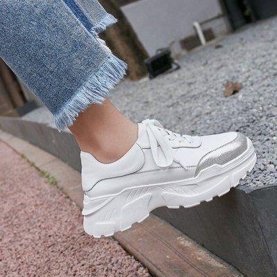 Fashion*超柔軟舒適小白鞋 小個...