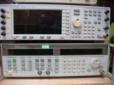 HP Agilent 83752A 0.01-20GHz Synthesized  Signal Generator