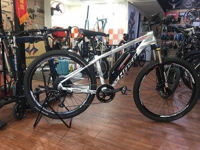 小哲居 HASA SWIFT 電動輔助自行車 電動車 登山車 27.5吋輪 9段變速 有閃電標章 合法上路 可騎80公里